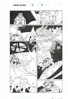 Original art HEROES REBORN THE RETURN 2 Page 3 by Salvador LaRocca & Art Thibert  http://www.ebay.com/itm/Original-art-HEROES-REBORN-RETURN-2-Page-3-Salvador-LaRocca-Art-Thibert-/301719648161?roken=cUgayN&soutkn=AE1bDU