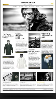 http://stutterheim.se/eu/  Stutterheim Raincoats by Morris Pinewood Stockholm , via Behance