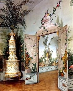 77 Best Johann Wentzel Bergl - trompe l'oeil and decorative