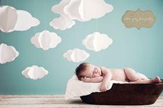 newborn cloud backdrop