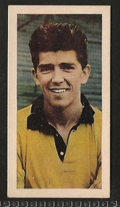 Wolverhampton Wanderers - Colin Booth - Football cards - Year 1956 - Footballers football cards