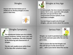 1000 Images About Shingles On Pinterest Chicken Pox