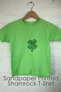 Sandpaper Shamrock T Shirt via @sheenatatum