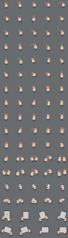 All The gestures you can ever want
