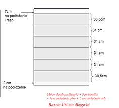 ADELA SZYJE : Jak uszyć roletę rzymską, czyli szycie wg Adeli - instrukcja krok po kroku (tutorial) Bar Chart, Curtains, Shopping, Amigurumi, Insulated Curtains, Blinds, Tents, Drapes Curtains, Picture Window Treatments