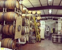 "Barrels in  Brandborg Winery in Elkton, Oregon. Brandbory was named Wine Press Northwest's ""Winery of the Year"" in 2015."