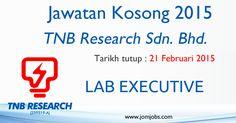 Jawatan Kosong TNB Research Sdn. Bhd 2015 Terkini. #kerjakosongtnbresearch #jawatankosongtnb2015