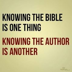 "Striving to ""know"" Christ in every sense of the word - it's translated from a word meaning a deep intimate relationship"