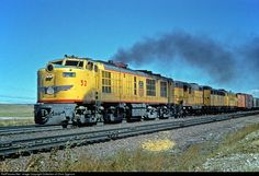 RailPictures.Net Photo: UP 52 Union Pacific Gas Turbine Electric at Cheyenne, Wyoming by Collection of Chris Zygmunt