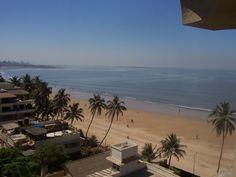 Juhu Beach in Mumbai, India