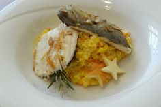 Forellenfilet auf Apfel-Karottenrisotto Risotto, Carrots, Healthy Recipes, Apple