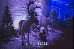 Large Furry Reindeer Prop | Christmas - Santa's Grotto Theme | Event Prop Hire