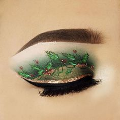 65 Special Christmas Makeup Ideas 2019 Chicbetter Inspiration for Modern Women Eye Makeup Art, Eye Art, Cute Makeup, Beauty Makeup, Makeup Goals, Makeup Inspo, Makeup Inspiration, Makeup Ideas, Christmas Makeup Look