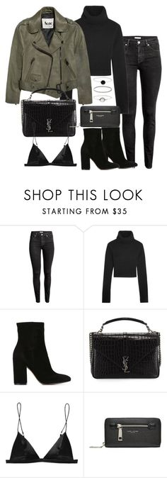 """Untitled #2773"" by theeuropeancloset ❤ liked on Polyvore featuring H&M, Michael Kors, Acne Studios, Gianvito Rossi, Yves Saint Laurent, T By Alexander Wang, Marc Jacobs and Accessorize"