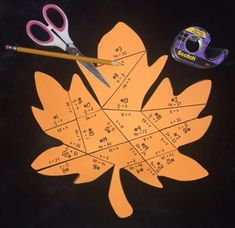 This 21- question, leaf- shaped puzzle provides students with practice solving one-step equations involving multiplication & division.  There are TWO options (equations with whole numbers OR integers).You will receive: 2 pages worth of puzzle pieces student recording sheet answer key directions & photo of the final productThis product is also included in the following bundle:  Middle School Math & Algebra 1 PUZZLE BUNDLEYou may also be interested in some of my other foldable bundl...