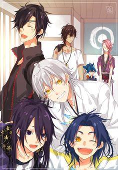 Manga Boy, Manga Anime, Anime Art, Vampire Knight, Mutsunokami Yoshiyuki, Sengoku Basara, Mermaid Drawings, Japanese Anime Series, Handsome Anime