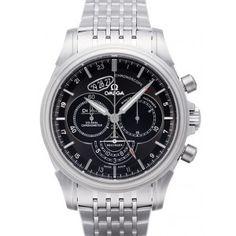 スーパーコピー 時計 オメガ デ・ヴィル クロノスコープ コーアクシャル GMT 422.10.44.52.13.001