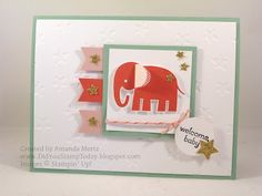 Did You Stamp Today?: Oh My Stars Baby Girl - Stampin' Up! Zoo Babies