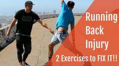 Running Back Injury--2 exercises to fix it!