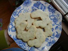 Earl Grey and Lavender Shortbread Cookies