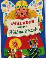 Vintage 70er Jahre Pestalozzi Malbuch f. d. Weihnachtszeit Weihnachten 1976
