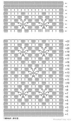 knit04_透かし模様のショール
