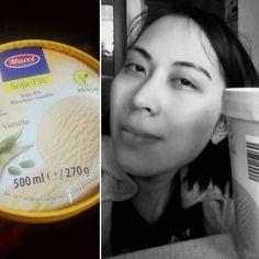 Unsure about vegan food. Still doesn't taste like vanilla. 😂😂 #blackandwhite #black #white #selfie #vanilla #icecream #soy #vegan #novegan #me #girl #food #foodporn #layout #beautiful #happy #picoftheday #photooftheday #fun #love #instadaily #instagood #follow4follow #followback #followme #instafollow #pleasefollow #amazing #summer #follow #like #good #perfect #followher #like4like #photography #coenbrother #thebiglebowski #magnificent #smile #instalike #instacool #instagramers #instalove