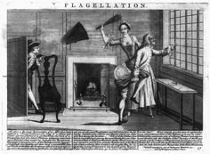 Flagellation engraving 1732 by John June, Library of Congress, Washington D.C, from 'The History & Arts of the Dominatrix' book by Anne O Nomis, ISBN 9780992701000 Ancient World History, Women In History, History Facts, Art History, History Quotes, Flagellation, World History Classroom, Georgian Era, Disney Images
