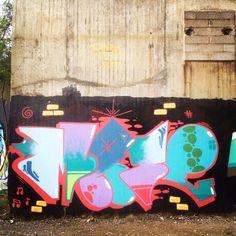 Graffiti streetart colors graff