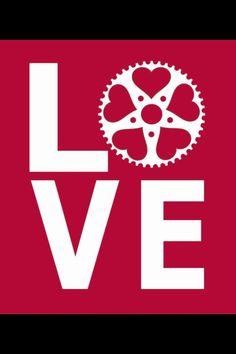 Love Bike _ Amore per la Bici  - #Graphic #Grafico