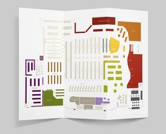 Hy-Vee Store Maps on Behance