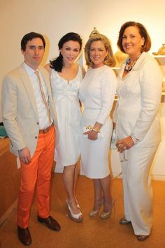 Joey Yates, JCL, Juli Miller Hart founder/CEO of Projects With Purpose and a sponsor of KMAC Couture, Annette Grisanti