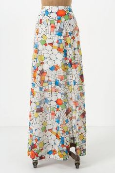 Leadlight Maxi Skirt