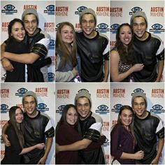 Austin with fans at the New York Artist To Watch Meet and Greet!