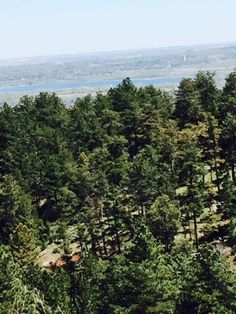 A view from the trail at Chautauqua Park in Boulder, CO.