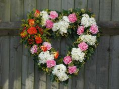 open heart arrangement