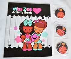 Natural Kids: Miss Zee Activity Book