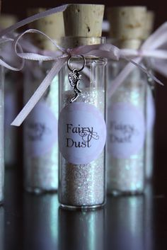 Fairy/pixie dust party favor  Woodland Fairy Themed 5th Birthday Party