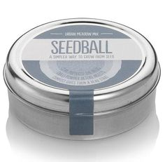 Seedball tin, Urban Meadow