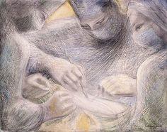 Barbara Hepworth: Barbara Hepworth, Concentration of Hands II