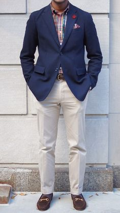 1000 images about navy blazer on pinterest navy blazers for Beige pants what color shirt