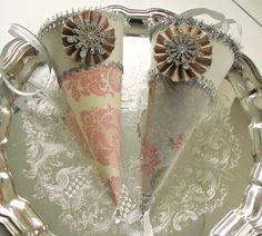 Victorian paper cones