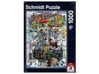Schmidt: Gumpert's Amazing Flying Machine (1000) Puzzle 1000, Puzzle Art, Baseball Cards, Amazing