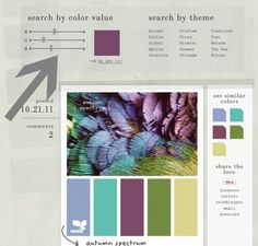 New {To Me} Color Inspiration Site: Design Seeds - Makely School for Girls