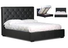 Florida Upholstered Custom Gas Lift Bed Frame $1799