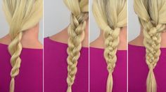 Four braids for beginners to try....