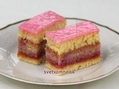 Chod: Zákusky a koláče - Page 18 of 254 - Mňamky-Recepty. Torte Cake, World Recipes, Sweet Cakes, Fabulous Foods, Homemade Cakes, Something Sweet, Rum, Sweet Tooth, Cheesecake