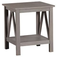 End Table Grey - Linon Home Decor