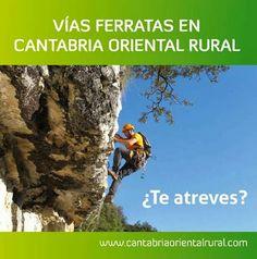 "CANTABRIA ORIENTAL RURAL: FOLLETO ""VIAS FERRATAS EN CANTABRIA ORIENTAL RURAL"""