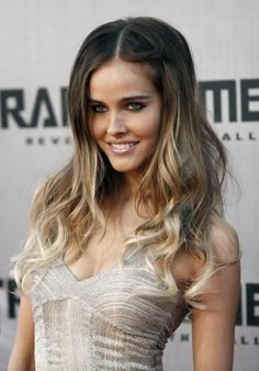 This is what I wanted my hair to look like when I asked for Ombre...she didn't go light enough.  Le sigh